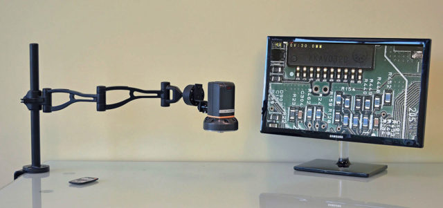 af-aa-arm-digital-microscope-for-inline-pcb-inspection