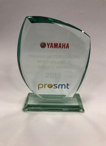 Yamaha Motor Avrupa En Değerli Servis Ödülü 2018